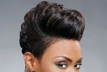 Trendy Hairstyles | Natural nd Awesome / Absolutely Eye catching Hairstyles.  Natural Relaxed Weave....   / by Tj Isaacs