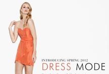 Spring 2012 - DRESS MODE / by Pilgrim Clothing