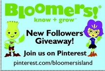 Bloomers! Pinterest GiveAway! / by Bloomers! Edutainment
