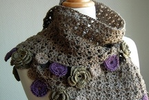 Crochet Scarves, Stoles, Wearables / by Charrie