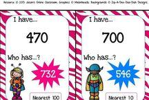 3rd grade math / by Tee Pot