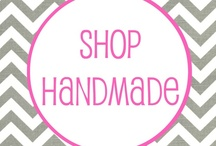 Shop Handmade / This is a Community Board to buy and sell handmade items. Join my Facebook page to also buy and sell handmade crafts: https://www.facebook.com/groups/346832032080413/  Please feel free to add anyone to this board! / by Brandy Overbee