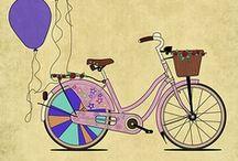 Art--BI, TRI, or UNI--CYCLES 2 / by Mickey Betz