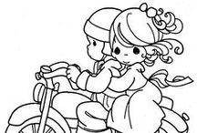Art--Coloring Pages/ all the family / by Mickey Betz