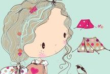 Kids--Kids, Adults, Cute & Odd,People patterns #2 / by Mickey Betz