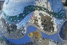 Mosaics & Stained Glass / by Barbara Wainscott