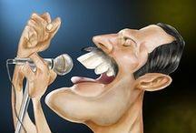 Caricatures / by Mervyn Britton