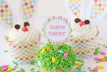 EASTER / LIttle Bunny Foo Foo, I don't want to see you...scoop'n up the field mice & bonk'n em on the head.   / by Candy Allen