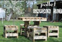 Pallets Re-Purposed / by Renee Voigt