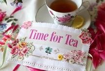 Tea for me, please. / by Gloria Erickson