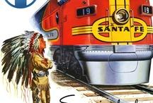 Travel by rail / by Gloria Erickson