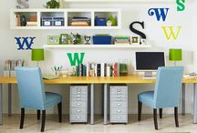 A Place to Create - Offices and Workspaces / by Debi Vitale