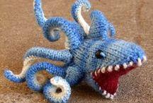 amigurumi/stuffies-knit / by Badass Knitting