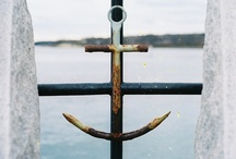 "Anchor My Life /  ""Hope anchors the soul."" Hebrews 6:19 / by Stephanie Hankison"