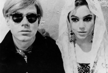 Edie + Andy / Deep down I'm a deeply superficial person - Andy Warhol / by Lauren Fisch