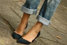"""Do it in Denim / """"Jeans represent democracy in fashion."""" Giorgio Armani  / by Lauren Fisch"""