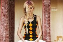 Eclectic Editorial: Color, Pattern, Texture /  'Fashion is instant language.' Miuccia Prada / by Lauren Fisch
