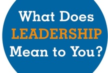 be a leader / by Nrs Knight