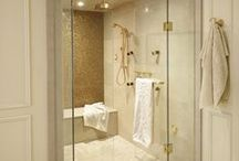 Wet Rooms / Design ideas, references and dreams for bath, laundry and mud rooms. / by Penney Schoener