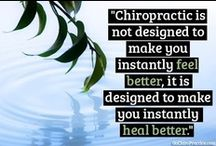 chiropractic care: we've got your back / by Amy Nikitas