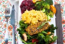 vegan thanksgiving / I eat a whole foods, plant-based diet. This board is filled with mostly whole foods recipes, with a little bit of leeway because it is Thanksgiving after all! / by Jo Chills