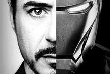 Iron Man! / All things Robert Downey Jr. / by Penney Schoener