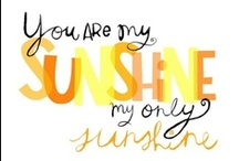 inspired 4NGA / my heart... my love... my life... my sunshine... / by Pixel Musings