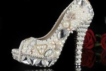 Blinged Shoes / Shoes / by Marlene Roney