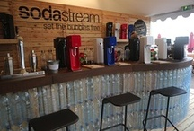 Cannes 2013 GreenSodaBar / SodaStream is the exclusive sponsor of fizzy drinks and water at The American Pavilion at Cannes Film Festival 2013! Take a look at our Green Soda Bar, and see all the action.  / by SodaStreamUSA