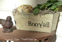Boo Y'all / Halloween Fun- Crafts, cards, decor,DIY  / by Cherie Stone