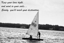 Beachy and happy quotes / by Brittany Sklute