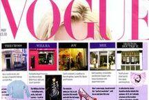 {FASHION} Belle & Bunty in the Press / by Belle & Bunty