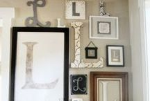Wall ideas  / by Christine @ Little Brags Blog