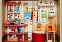 Dollhouse - Pet Shop/Cat House / by Sharon Cumrine