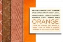 Orange / by Capel Rugs