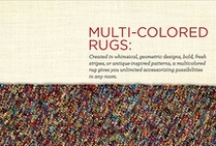 Multicolored / by Capel Rugs