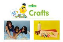 Crafts / A Sesame Street collection of DIYs and craft ideas  for young children to do with their parents and teachers. Do arts and crafts with cool, lovable Sesame Street friends such as Elmo and Cookie Monster!  / by Sesame Street