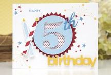 cards birthdays 10 / by Sandra Malinowsky-Carter
