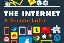 Digital / Infografías sobre internet, redes sociales, móviles, mercadeo y comunicación digital. / by Alejandro Moñino