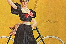 Bicycles / Bicycles brought a freedom to men and women that changed the world and still does. They helped in the emancipation of women, provided a freedom in dress and activities, women rode alone without a chaperone and wore comfortable clothes to do so.  / by The Tailor's Apprentice