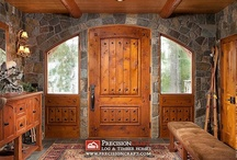 Log Home - Doors / Not necessarily log but good ideas  / by Rick Bloxom