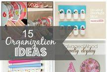 Organize It! / by Sarah M Schultz Designs