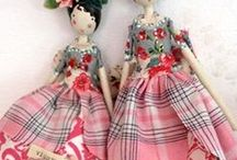 dolls / by Colleen BannonStines