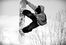 Snowboarding / This board has become really quite annoying...please don't follow. / by Michael P