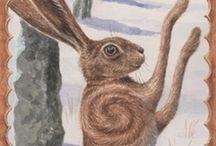 Hares / by Primitive Hare Isobel-Argante