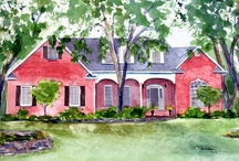 Watercolor Architecture / by Lisa Mason