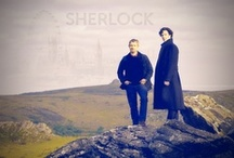 """221B Baker Street / """"My name is Sherlock Holmes. It is my business to know what other people do not know."""" ― Sir Arthur Conan Doyle, / by Rachel Ryan"""