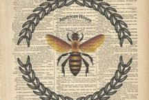 BeEs, the Wyrd sisters... / by Primitive Hare Isobel-Argante