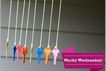 Wacky Wednesday / Find out all the wackiest things you would love to try here. #DIY / by HomeShop18