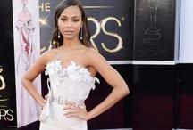 Oscars 2013-Bridal Inspiration / Regardless of color, we loved these Oscar gowns as bridal inspiration.  / by Black Bridal Bliss